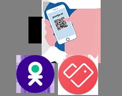Klanten slaan de 'Digitale klantenkaart' van Puntje op in de Stocard -of OK-app.